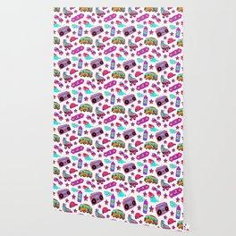 Retro pattern Wallpaper