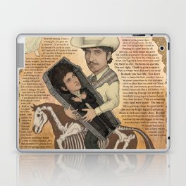 Bob Dylan - Find Out Something Only Dead Men Know Laptop & iPad Skin