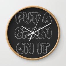 Put a Brain on It Wall Clock