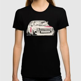 Crazy Car Art 0163 T-shirt
