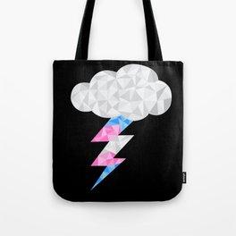 Transgender Storm Cloud Tote Bag
