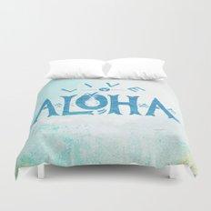 Live Aloha Duvet Cover