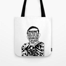 Jordan Edwards - Black Lives Matter - Series - Black Voices Tote Bag