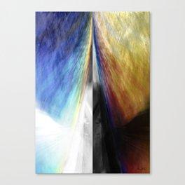 SPLITTING Canvas Print