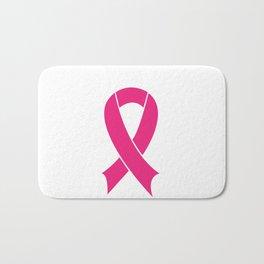 Cancer ribbon Bath Mat