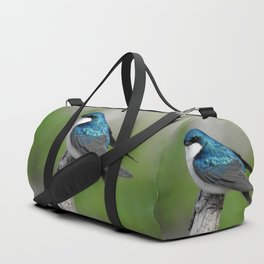 Male Tree Swallow II Duffle Bag