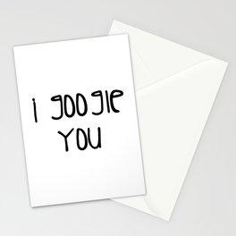 I g-ogle you Stationery Cards