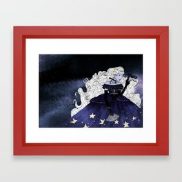 Star Fairy Framed Art Print