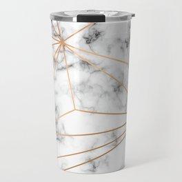 Marble & Gold 046 Travel Mug