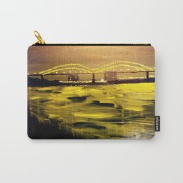 Memphis Skyline at Night Carry-All Pouch