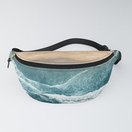 Aerial Coastline Beach Fanny Pack