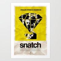 snatch Art Prints featuring SNATCH by childoftheatom