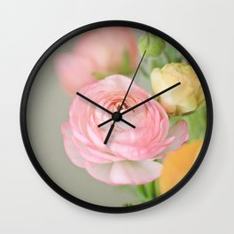 Just one pink Wall Clock
