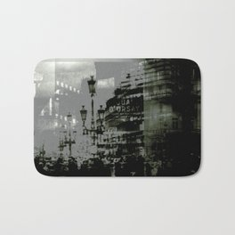 1st arrondissement-gray Bath Mat