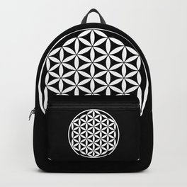 Flower of Life Yin Yang Backpack