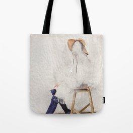 headless model No.01 Tote Bag