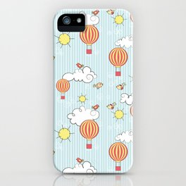 hot air balloon iPhone Case