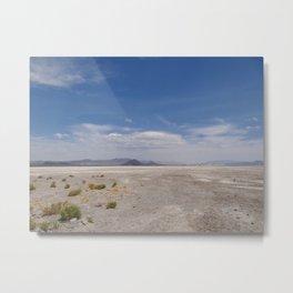 Zzyzx Salt Flat / Soda Lake Metal Print