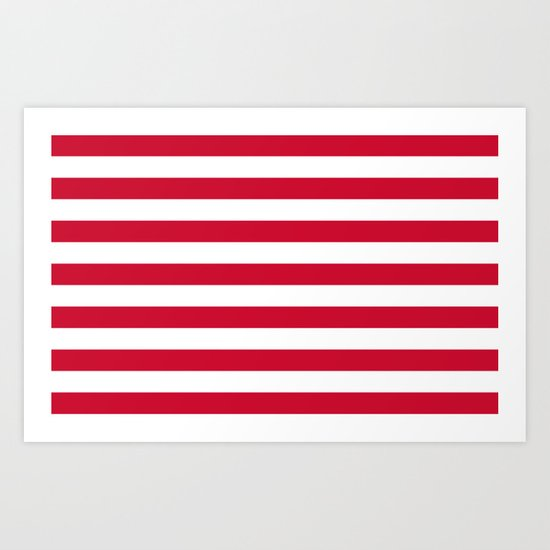 Flag of Goes Art Print