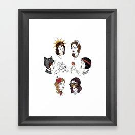 Little Spooks Framed Art Print