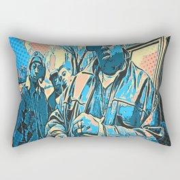 Biggie pop art Rectangular Pillow