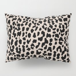 Tan Leopard Pillow Sham