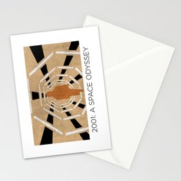 Minimalist 2001: A space odyssey Stationery Cards