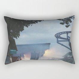 Summer festival in Stockholm Rectangular Pillow