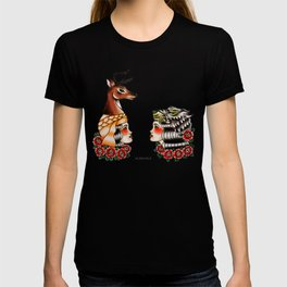 Yaqui deer and wolf T-shirt