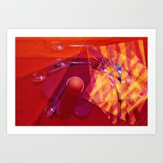 An Egg for Breakfast Art Print