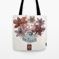 coffe Tote Bags featuring Coffe time by flaviasorr