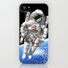 A heck of a big leap iPhone Case