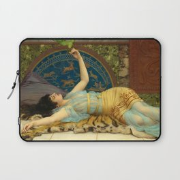 DOLCE FAR NIENTE - JOHN WILLIAM GODWARD Laptop Sleeve