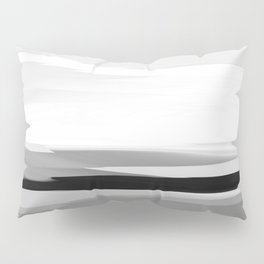 Soft Determination Black & White Pillow Sham