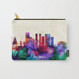 Bilbao Skyline Carry-All Pouch