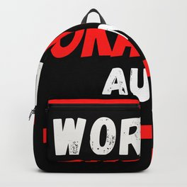 Worlds okayest Aunt Backpack