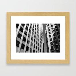 Bostonian Architecture Framed Art Print