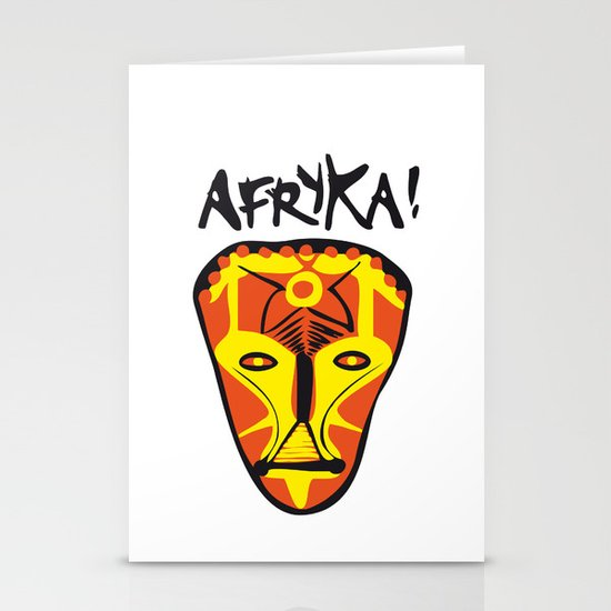 Afryka! Stationery Cards