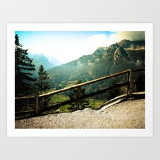 Road to the Top Art Print