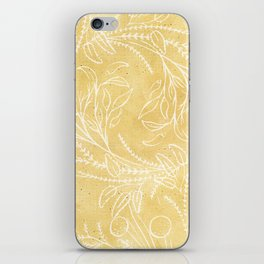 Add Spice to your Life: herb toss ochre iPhone Skin