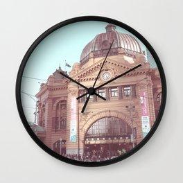 Flinders Street Station, Melbourne, Australia Wall Clock