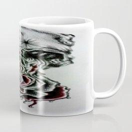 Skull dripping into rose Coffee Mug