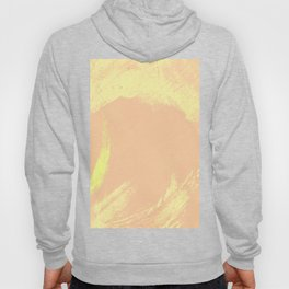 Watercolors Abstract Yellow Hoody