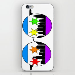 chicaGOggles Pride iPhone Skin