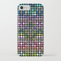 matrix iPhone & iPod Cases featuring Dot Matrix... by Lisa Argyropoulos