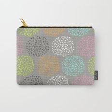 Flowers-triangles Carry-All Pouch
