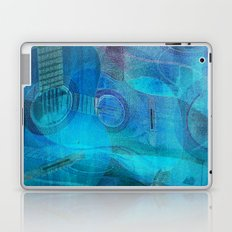 Guitar Study Blues Laptop & iPad Skin