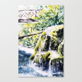 Bigar Waterfall, Romania Canvas Print