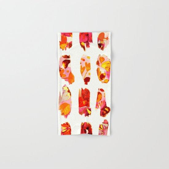 floral bits Hand & Bath Towel