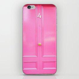 Pink Four Door iPhone Skin